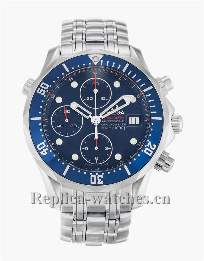 Omega Seamaster Chrono Diver Blue Dial 42MM 2225.80.00