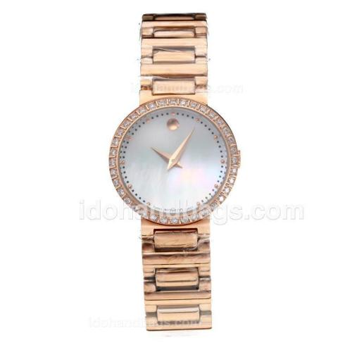 Movado Fiero Full Rose Gold with MOP Dial 189082