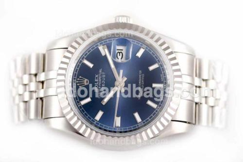 Rolex Datejust Automatic with Blue Dial 22445
