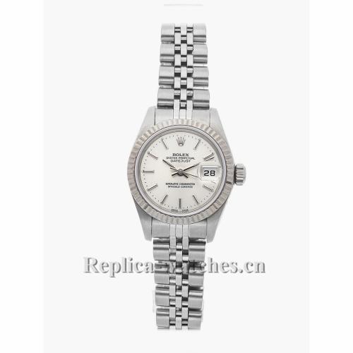 Rolex Replica Datejust White Face 69174