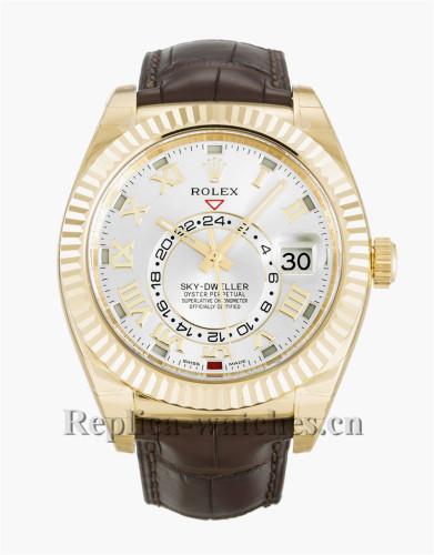 Rolex Sky-Dweller White Dial 42MM 326138