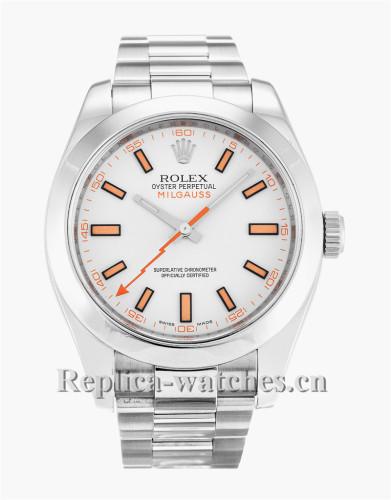 Rolex Milgauss White Dial 40MM 116400