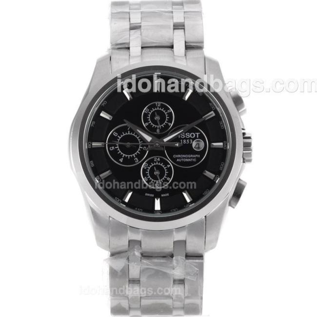 Tissot PRC200 Automatic with Black Dial S/S 110850