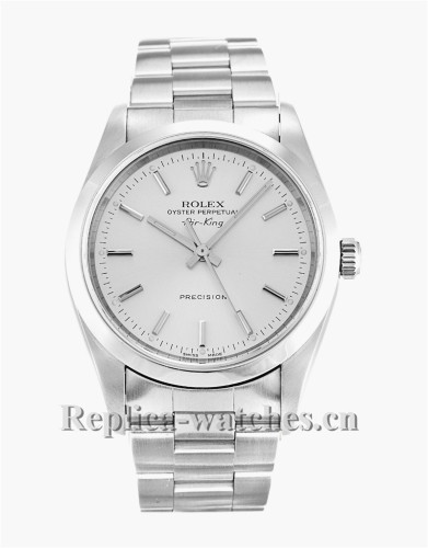 Rolex Air King Stainless Steel Strap 14000M