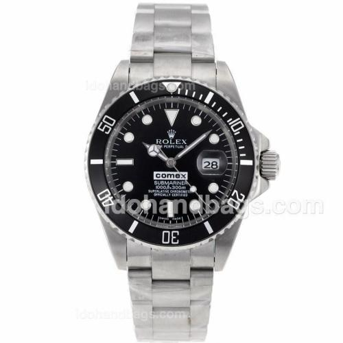 Rolex Submariner Comex Edition Automatic with Black Dial 41108