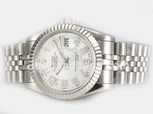 Rolex Datejust Automatic with White Dial-New Version Marking 19291