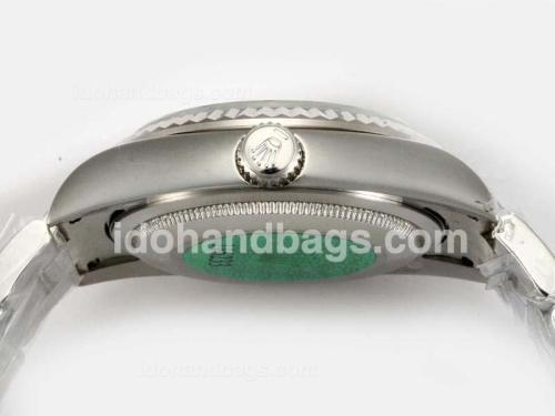 Rolex Air-King Oyster Perpetual Automatic with White Dial 18618