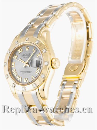 Rolex Pearlmaster Gray Dial 28MM 80318