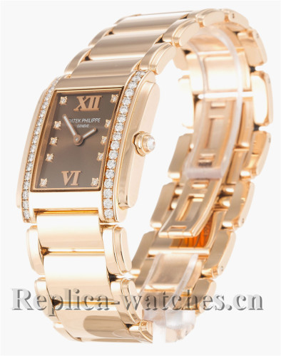 Patek Philippe Twenty-4 Rose Gold 25MM 4910/11R
