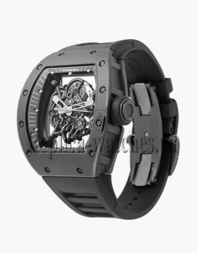 Replica Richard Mille Grey Boutique Edition Titanium RM055 Watch