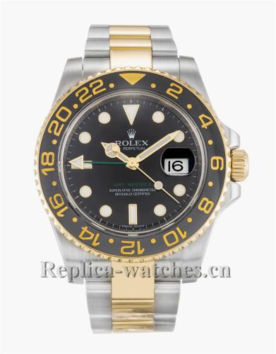 Rolex GMT Master II Black Dial 40MM 116713LN