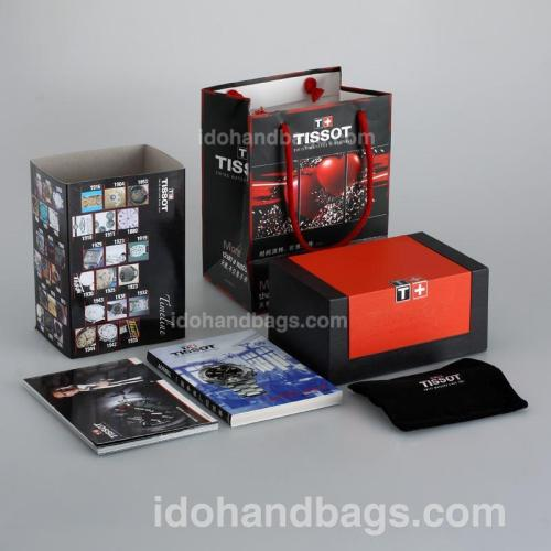 Tissot High Quality Black Wooden Box Set with Instruction Manual 115768