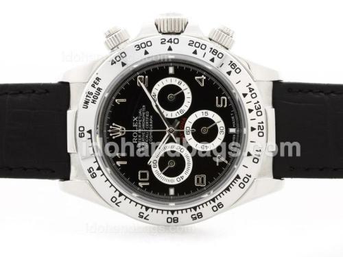 Rolex Daytona Cosmograph Working Chronograph Black Dial with Arabic Marking 34933