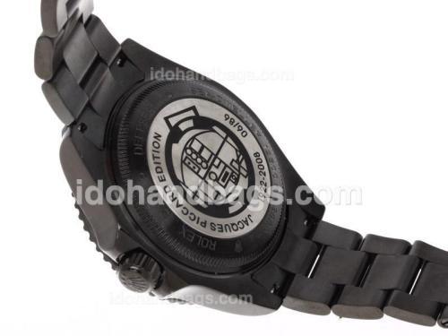 Rolex Sea Dweller Pro Hunter Deep Sea Swiss ETA 3135 Movement with Black PVD Case-Jacques Limited Edition 45978