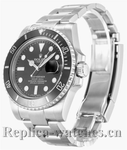 Rolex Submariner Stainless Steel Strap Black Dial 116610 LN