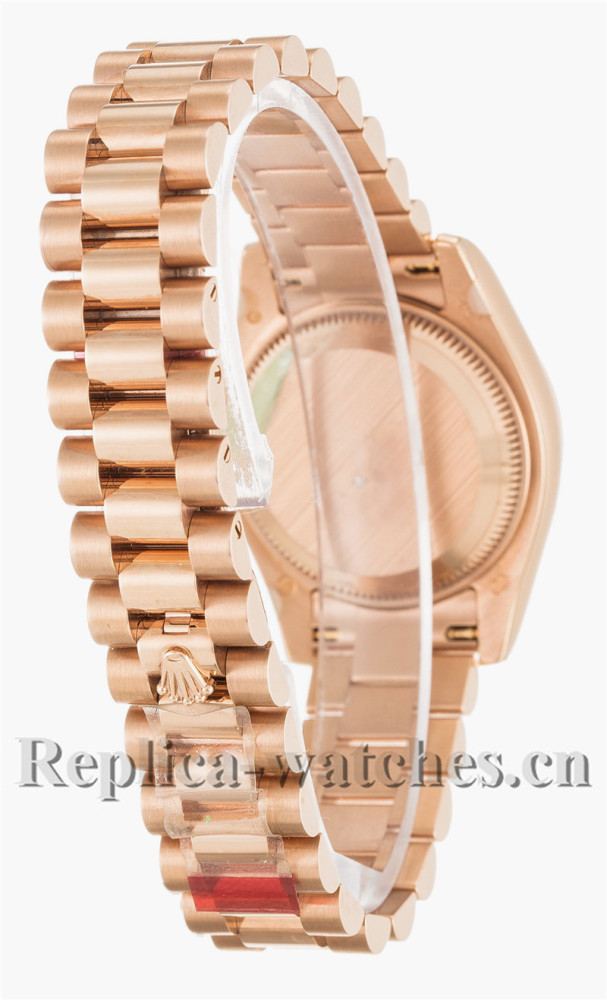 Rolex Datejust Lady Gose Gold Dial 26MM 179175