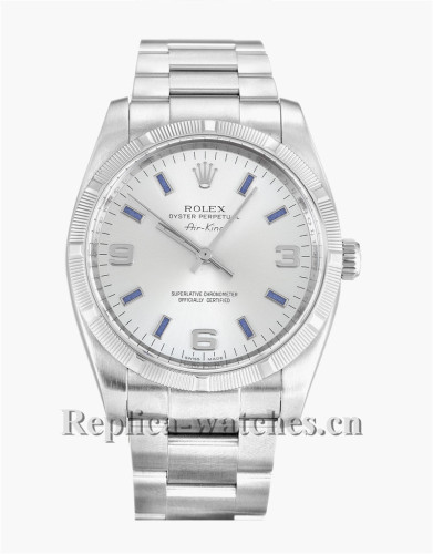 Rolex Air King White Dial 114210