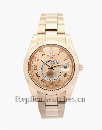 Rolex Sky-Dweller Rose Gold 42MM 326938