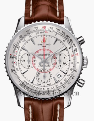 Breitling Navitimer Montbrillant-01 Brown Leather Strap Replica Watch