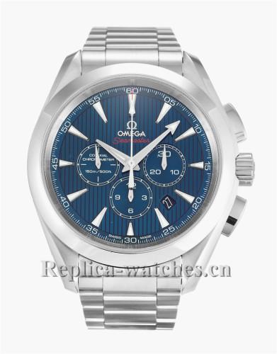 Omega Olympic Aqua Terra Blue Dial 44MM 522.10.44.50.03.001
