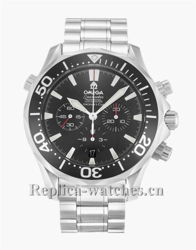 Omega Seamaster Americas Black Dial 42MM Cup 2594.50.00