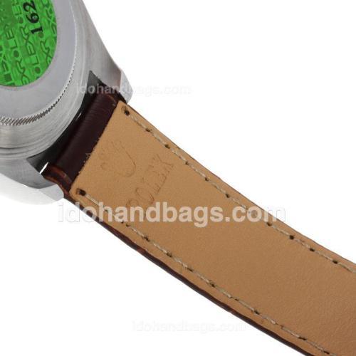 Rolex Daytona Cosmograph Working Chronograph White Dial with Diamond Marking 34932