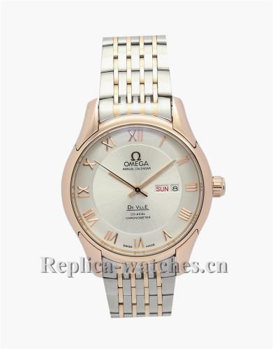 Omega De Ville Hour Vision Gold Bezel 41 MM