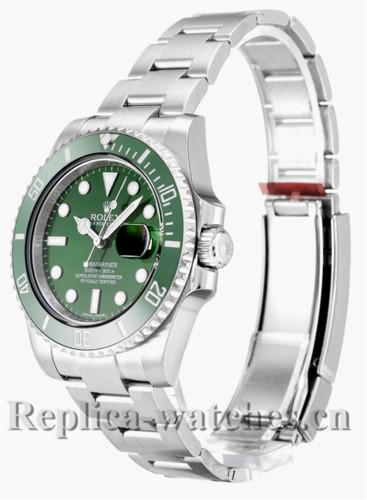 Rolex Submariner Green Dial 40MM 116610LV