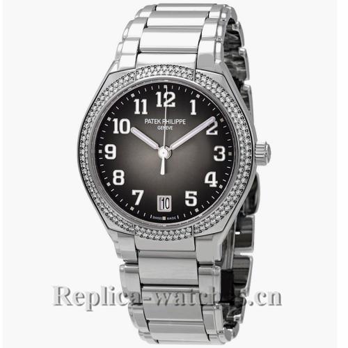 Patek Philippe Replica Twenty 4 Steel Grey Dial Automatic 36MM Watch 73001200A 010
