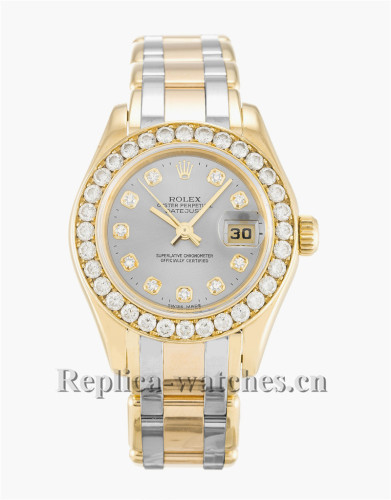 Rolex Pearlmaster Stainless Steel Strap 80298