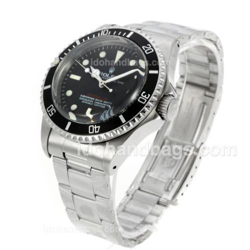 Rolex Sea-Dweller Swiss ETA 2836 Movement Vintage Edition with Black Dial 126806