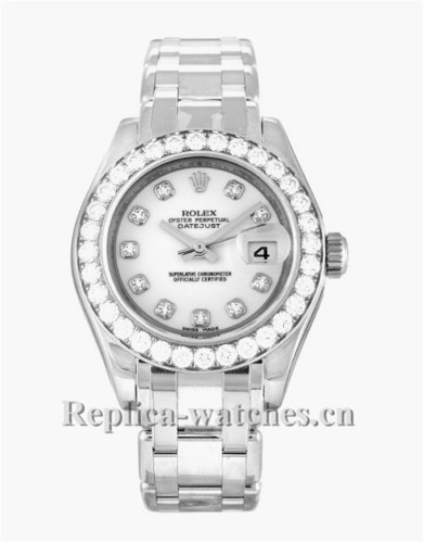 Rolex Pearlmaster Diamond Bezel 29MM 80299