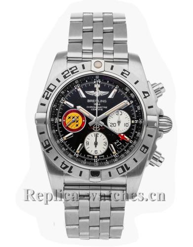 Breitling Replica Chronomat GMT Patrouille Suisse 50th Anniversary 44mm AB04203JBD29