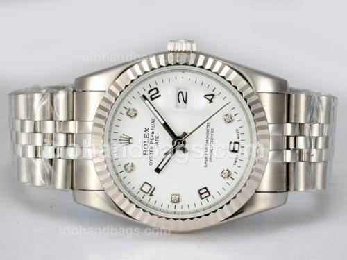 Rolex Datejust Automatic with White Dial 12882