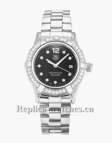 Tag Heuer Aquaracer Black Dial 27MM WAF141D.BA0813