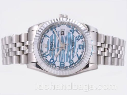 Rolex Datejust Automatic with Blue wave Dial 22880