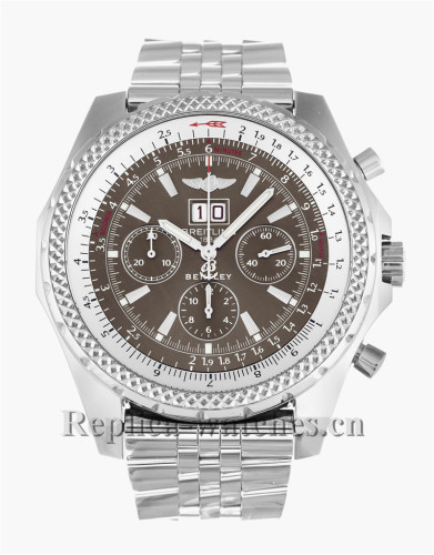 Breitling Bentley 6.75 Stainless Steel Strap 49MM A44362