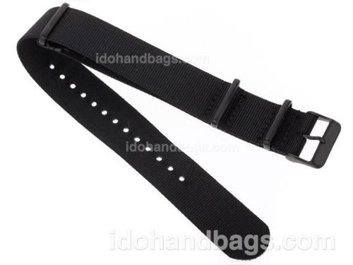 Rolex Black Nylon Strap for Submariner Version 47176