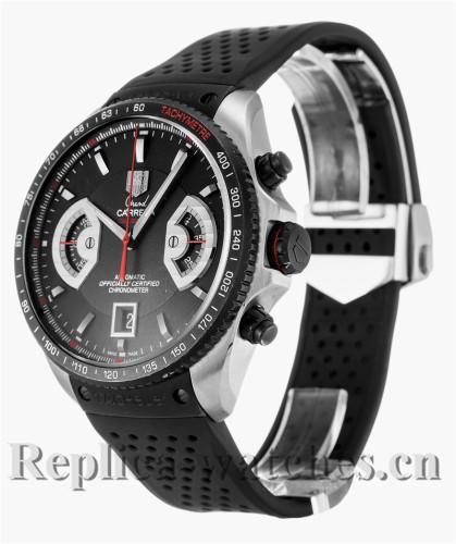 Tag Heuer Grand Carrera Black Rubber Strap CAV511C.FT6016