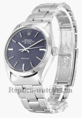 Rolex Air King Blue Dial 5500