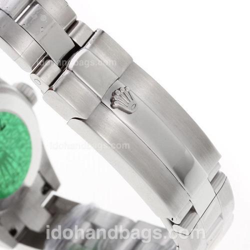 Rolex Air-King Swiss ETA 2671 Movement Roman Markes with White Dial S/S-Lady Size 72070