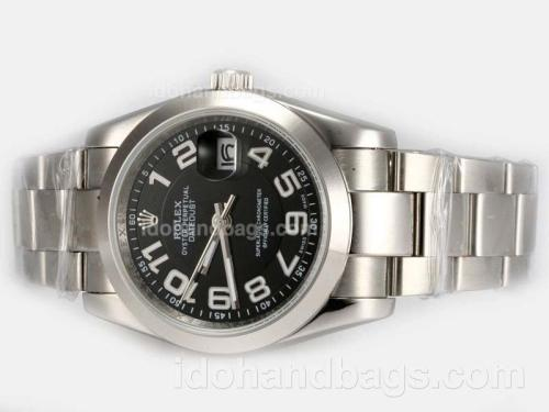Rolex Datejust Automatic with Black Dial-New Version 19296