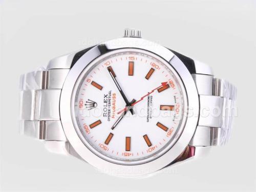 Rolex Milgauss Swiss ETA 2836 Movement with Orange Marking-Correct Size 23911