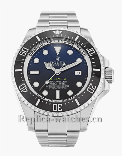 Rolex Deepsea Stainless Steel Strap Blue Dial 116660