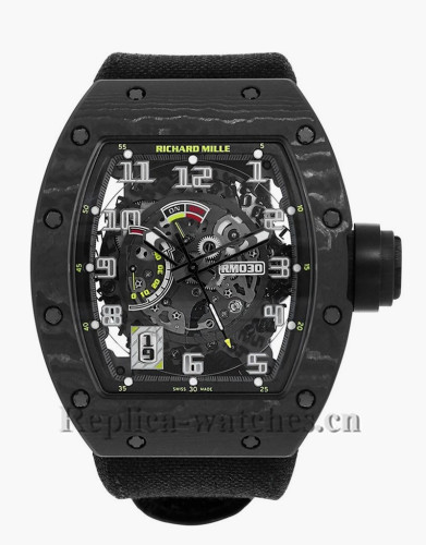 Replica Richard Mille Black Case Carbon Limited Edition of 50 RM030