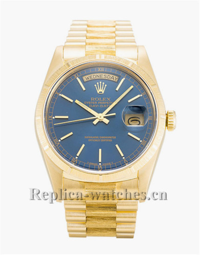 Rolex Day-Date Blue Dial 36MM 18248