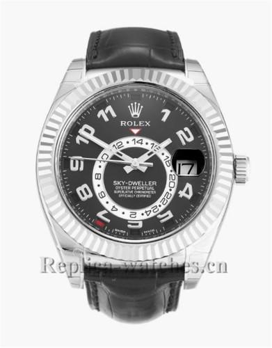 Rolex Sky-Dweller Black Dial 42MM 326139