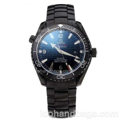 Omega Seamaster Automatic Full PVD with Black Dial(Gift Box is Included) 202958