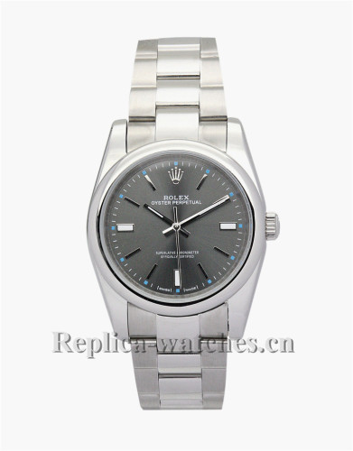 Rolex Lady Oyster Perpetual Black Dial 31MM 177200