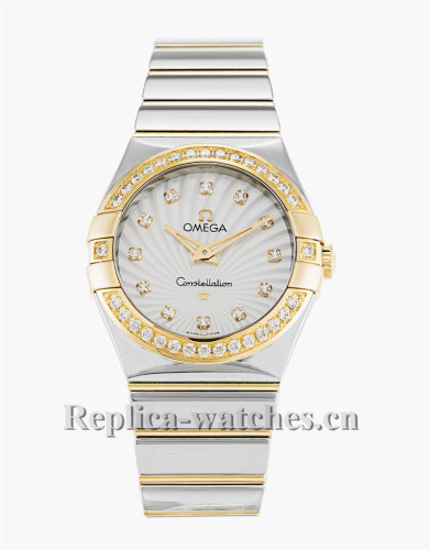 Omega Constellation Ladies White Dial 27MM 123.25.27.60.55.008